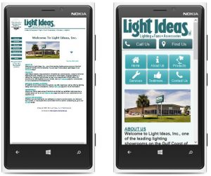 mobile first webmasters