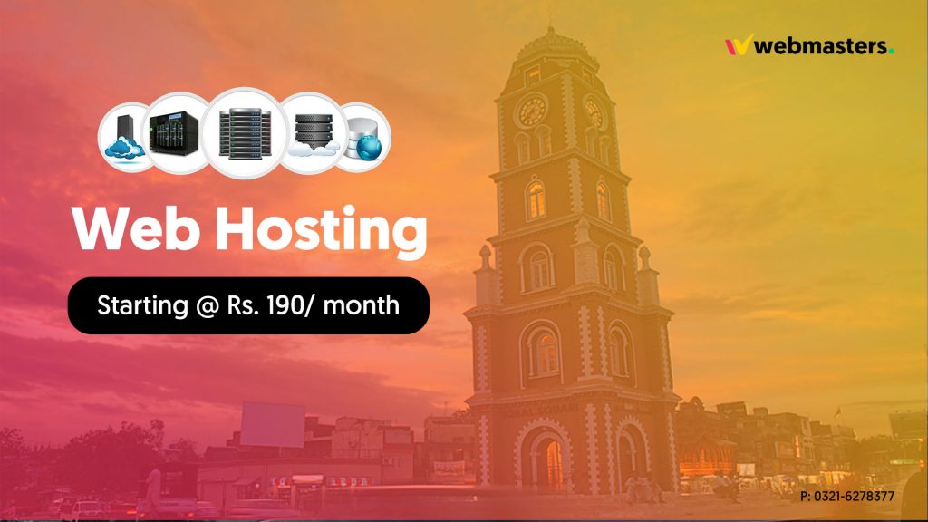 best web hosting in sialkot